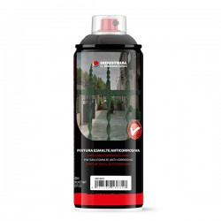 MTN Industrial Esmalte Anticorrosivo Negro 400 ml