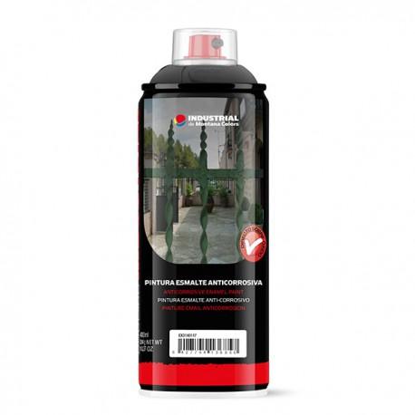 MTN Industrial Esmalte Anticorrosivo Negro 400 ml